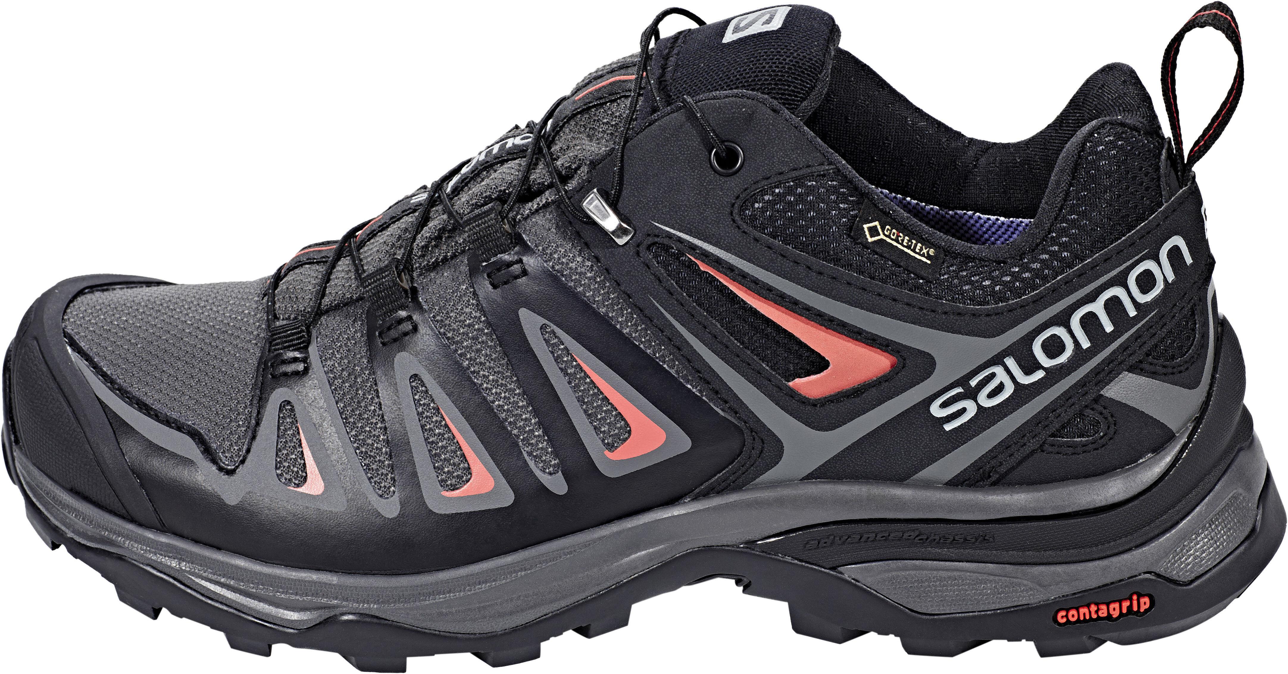 816ff218fcf Salomon X Ultra 3 GTX - Chaussures Femme - gris noir sur CAMPZ !